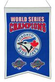 Winning Streak MLB Blue Jays Champs Banner