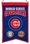 Winning Streak MLB Cubs World Series Champs Banner