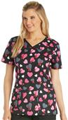 Cherokee Heart Healthy Women's V-Neck Scrub Top