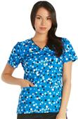 Cherokee Women's Mock Wrap Scrub Tops