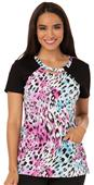 Careisma Women's Round Neck Scrub Top