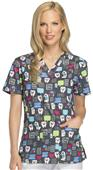 Dickies Women's V-Neck Scrub Top