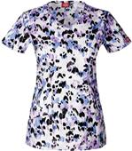 Dickies Women's Contemporary Fit V-Neck Scrub Tops