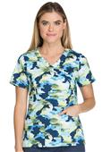 Dickies Women's Contemporary Mock Wrap Scrub Tops