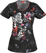 Dickies Women's Contemporary Fit V-Neck Scrub Top