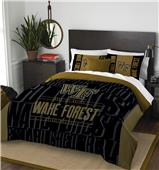 Northwest Wake Forest Full/Queen Comforter & Shams