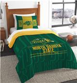 Northwest North Dakota State Twin Comforter & Sham