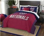 Northwest MLB Nationals Full/Queen Comforter/Shams