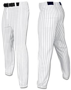WHITE W/BLACK PINSTRIPES