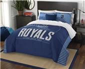 Northwest MLB Royals Full/Queen Comforter & Shams