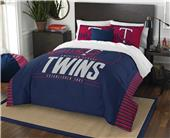 Northwest MLB Twins Full/Queen Comforter & Shams