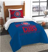 Northwest MLB Cubs Twin Comforter & Sham