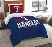 Northwest MLB Rangers Twin Comforter & Sham