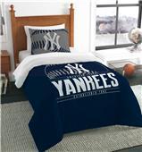 Northwest MLB Yankees Twin Comforter & Sham