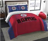 Northwest NBA Clippers Full/Queen Comforter/Shams