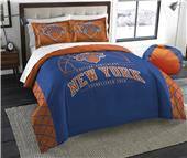 Northwest NBA Knicks Full/Queen Comforter & Shams