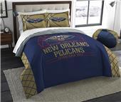 Northwest NBA Pelican Full/Queen Comforter & Shams