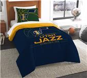 Northwest NBA Jazz Twin Comforter & Sham