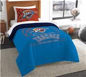 Northwest NBA Thunder Twin Comforter & Sham