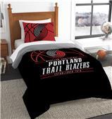 Northwest NBA Trail Blazers Twin Comforter & Sham