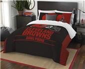 Northwest NFL Browns Full/Queen Comforter & Shams