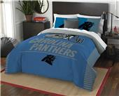 Northwest NFL Panthers Full/Queen Comforter/Shams