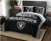 Northwest NFL Raiders Full/Queen Comforter & Shams