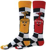 Red Lion Condiments Over-The-Calf Socks