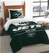 Northwest NFL Jets Twin Comforter & Sham