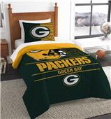 Northwest NFL Packers Twin Comforter & Sham