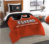 Northwest NHL Flyers Twin Comforter & Sham
