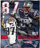 Northwest NFL Rob Gronkowski HD Silk Touch Throw