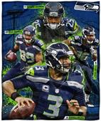 Northwest NFL Seahawks Players HD Silk Touch Throw