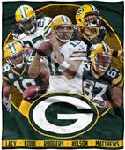 Northwest NFL Packers Players HD Silk Touch Throw