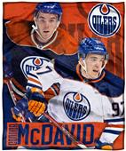 Northwest NHL Connor McDavid HD Silk Touch Throw