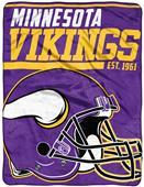 Northwest NFL Vikings 40yd Dash Raschel Throw