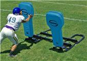 Hadar 2-Man Football Blocking Sled Full Body Pads