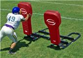 Hadar 2-Man Football Blocking Sled Full Body Pads