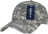 Decky Relaxed Cotton Camo Cap