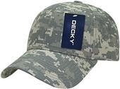 Decky Structured Camo Baseball Cap