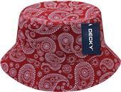 Decky Paisley Bucket Hat