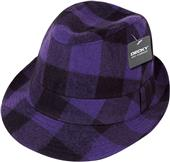 Decky Plaid Fedora