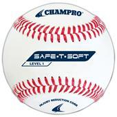 Champro CBB-61 Safe-T-Soft Level 1 Baseballs-Dozen