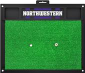 Fan Mats NCAA Northwestern Univ. Golf Hitting Mat