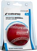 Champro Weighted Training Raised Seam Baseballs
