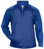 Badger Sport Adult Sport Heather Tonal Pullover
