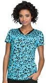 HeartSoul Womens V-Neck Scrub Tops