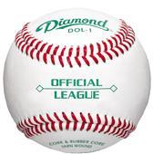 Diamond DOL-1 OL Youth Game/HS Practice  Baseballs