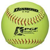 Diamond Premier Girls Fastpitch Official Softballs
