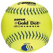 "12"" USSSA Super Gold Dot Mens Slowpitch Softballs"